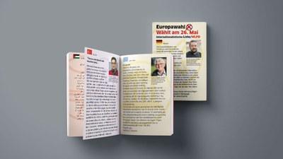 Wahlaufruf zur Europawahl jetzt in 11 Sprachen