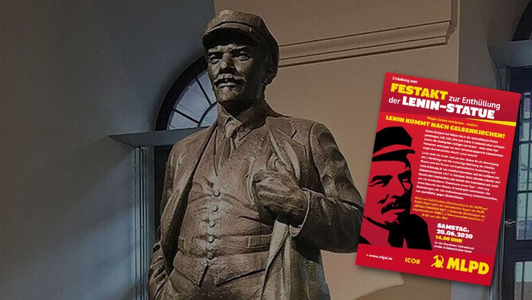 20 June 2020 is the day: Lenin statue will be unveiled in Gelsenkirchen!
