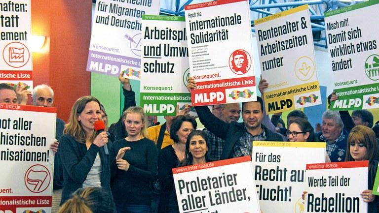 Erfolg für Wahlkampf der Internationalistischen Liste / MLPD