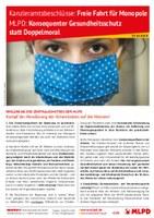Konsequenter Gesundheitsschutz statt Doppelmoral! Kampf der Abwälzung der Krisenlasten auf die Massen!