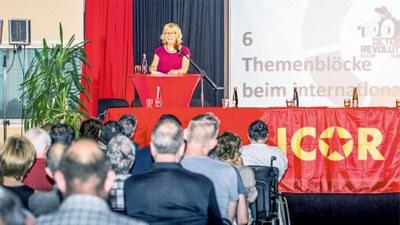 Déclaration de la Coordinatrice principale de l'ICOR Monika Gärtner-Engel
