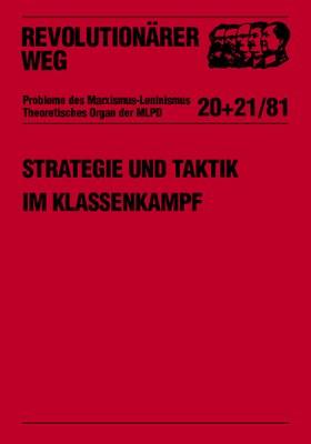 Strategie und Taktik im Klassenkampf