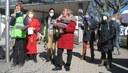 Kundgebung in Sindelfingen: Frauen der Welt kämpfen für eine lebenswerte Zukunft - von Revolution bis Religion !