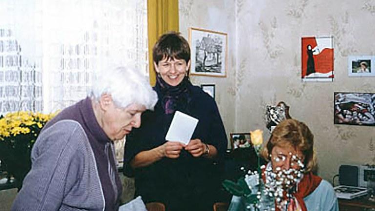 Freundschaft mit Luise und Willi Dickhut