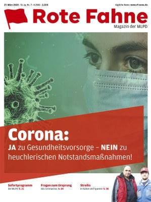 Rote Fahne Magazin 07/2020