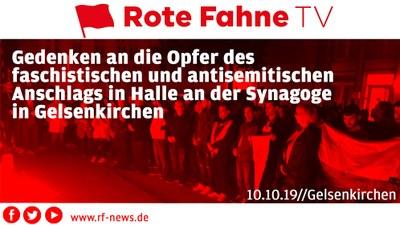 Gedenken an die Anschlagsopfer in Halle // Gelsenkirchen, 10.10.