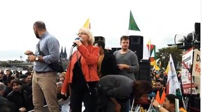 NRW-weite Rojava-Demo am 12.10. In Köln