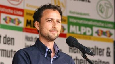 Tassilo Timm Spitzenkandidat der Internationalistischen Liste/MLPD