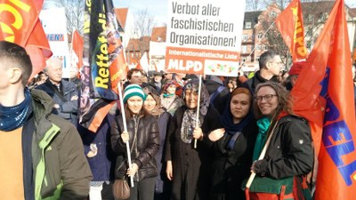 Videobericht über die Antifaschistische Demonstration am 15 Februar