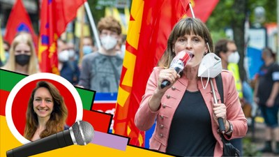 Wahlkampfauftakt der MLPD in Hannover